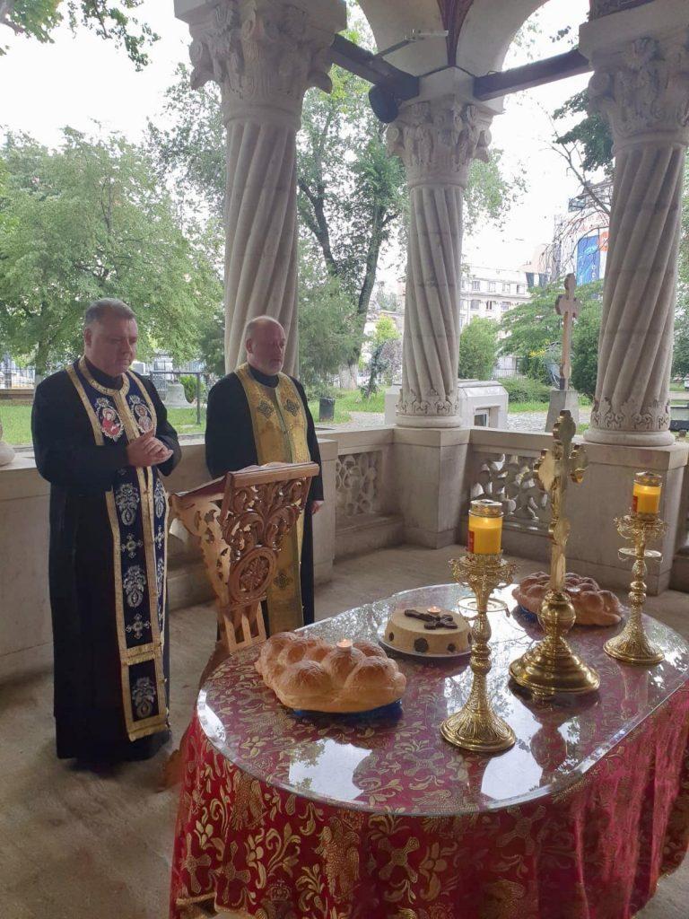 Parastas pentru Eminescu la Biserica Sf. Gheorghe Nou