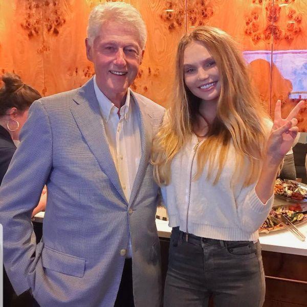 Bill Clinton si Mateia